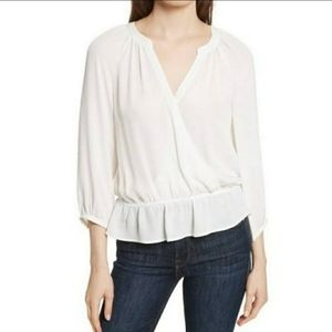 New With Tags! Joie Louvre Porcelain Silk Blouse